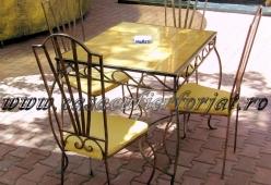 Masa din fier forjat model MONTE CARLO