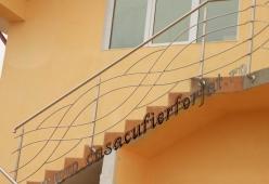 Balustrada inox model 10
