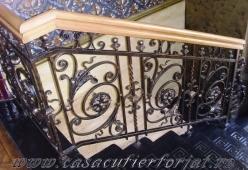 Balustrada fier forjat model MILANO