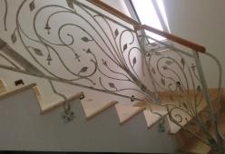 Balustrada fier forjat model MAGNOLIA