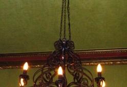 Candelabru fier forjat model MONTE CARLO