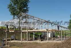Structura metalica casa