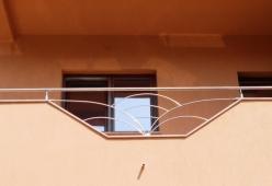 Balcon inox model 08