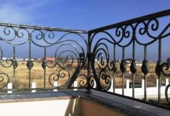 Balustrada din fier forjat pentru balcon model KOBLENZ